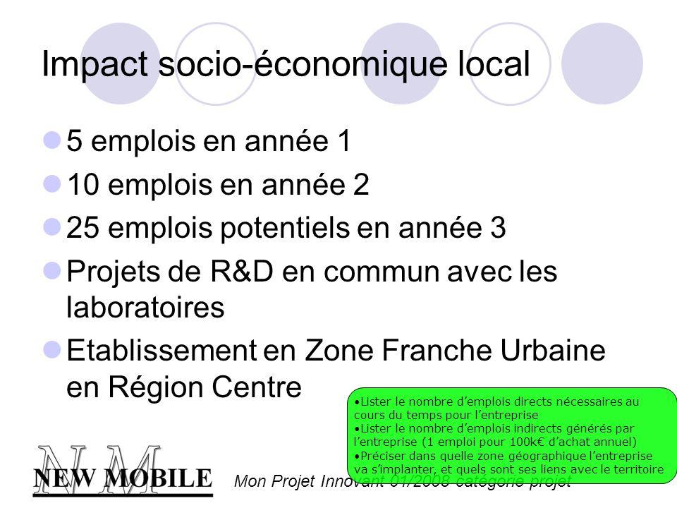 Impact socio-économique local