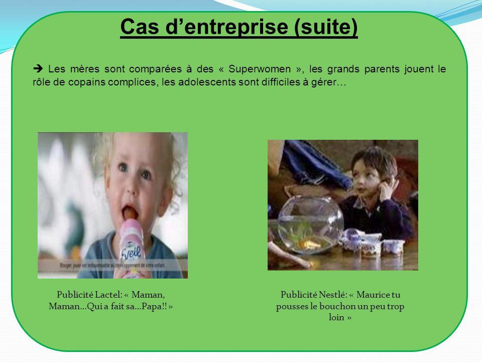 Cas d'entreprise (suite)