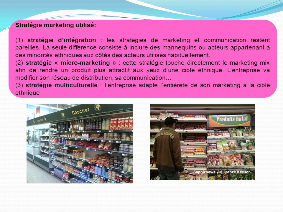 Stratégie marketing utilisé: