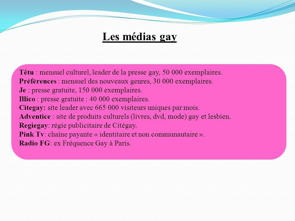 Les médias gay