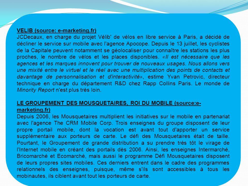VELIB (source: e-marketing.fr)