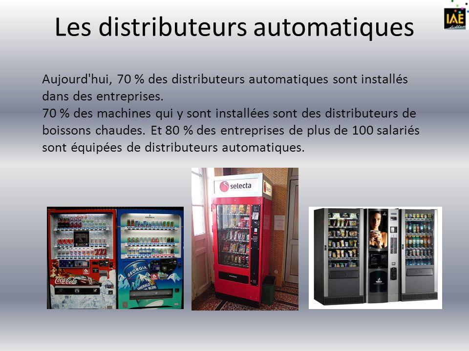 Les distributeurs automatiques