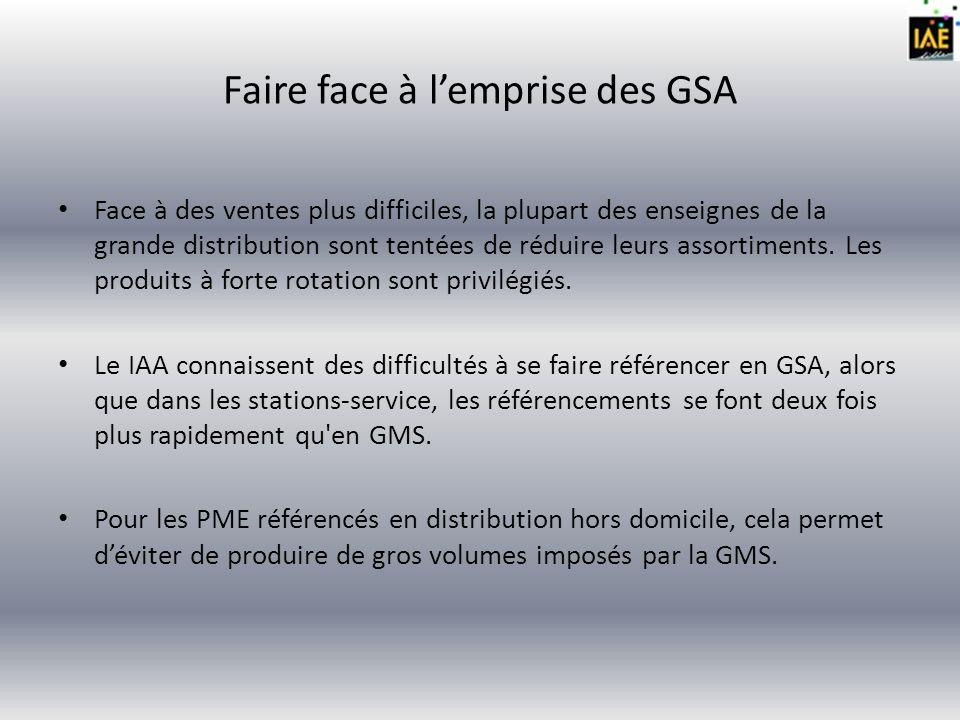 Faire face à l'emprise des GSA