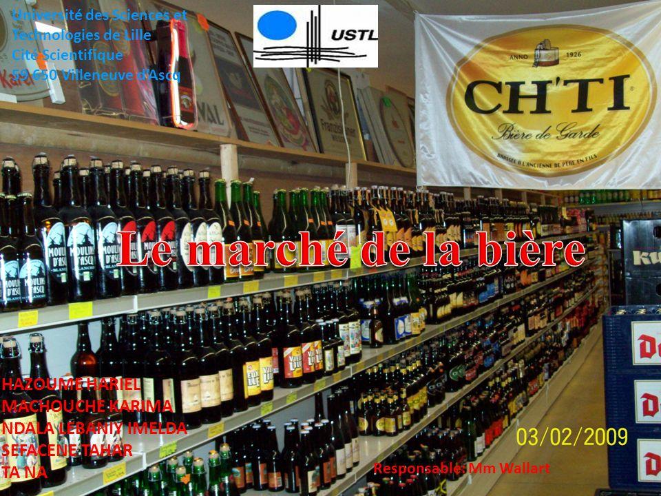 Le marché de la bière HAZOUME HARIEL MACHOUCHE KARIMA