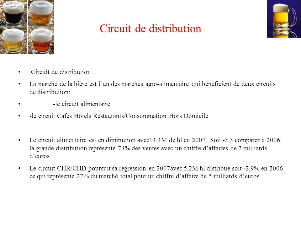 Circuit de distribution