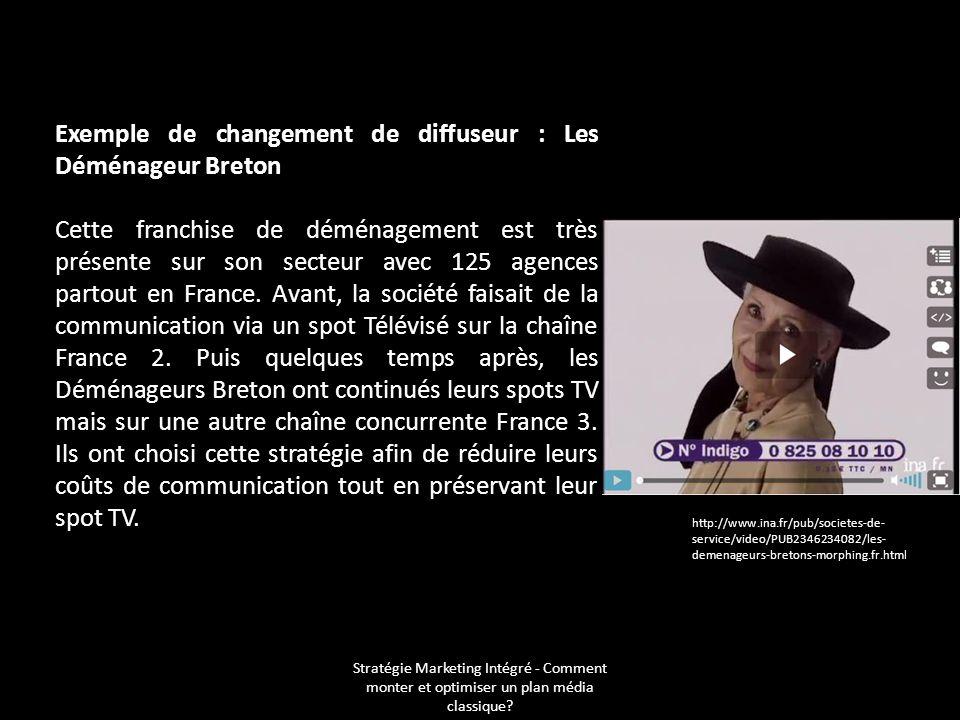 Exemple de changement de diffuseur : Les Déménageur Breton