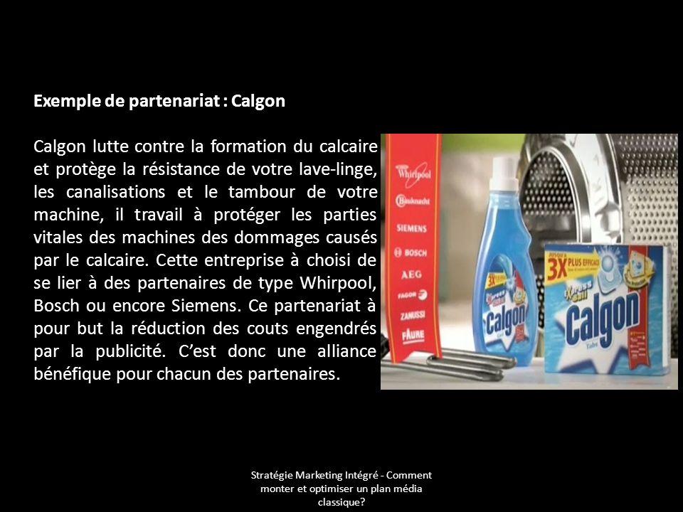 Exemple de partenariat : Calgon