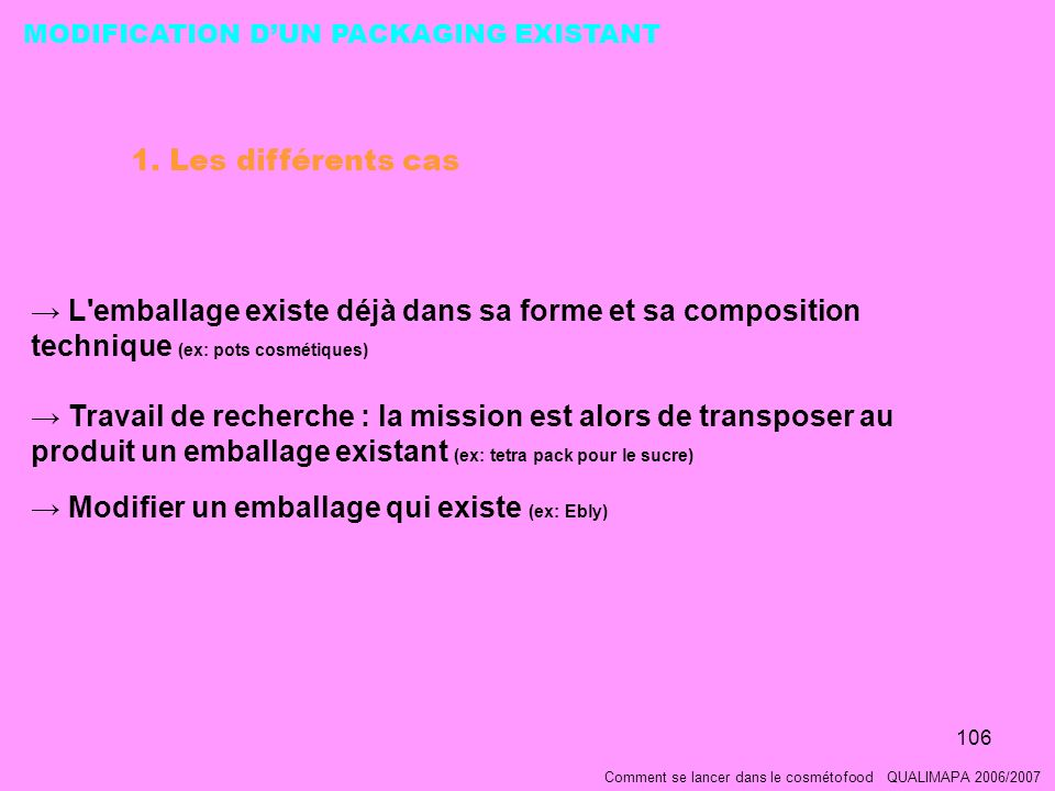 Modifier un emballage qui existe (ex: Ebly)