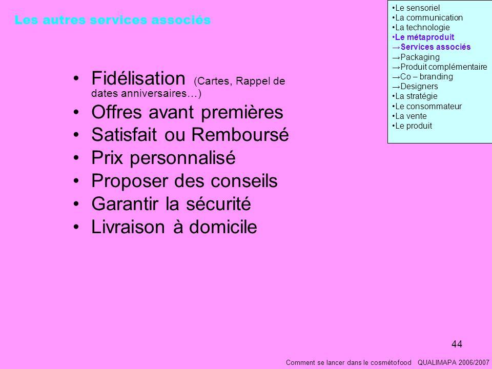 Fidélisation (Cartes, Rappel de dates anniversaires…)