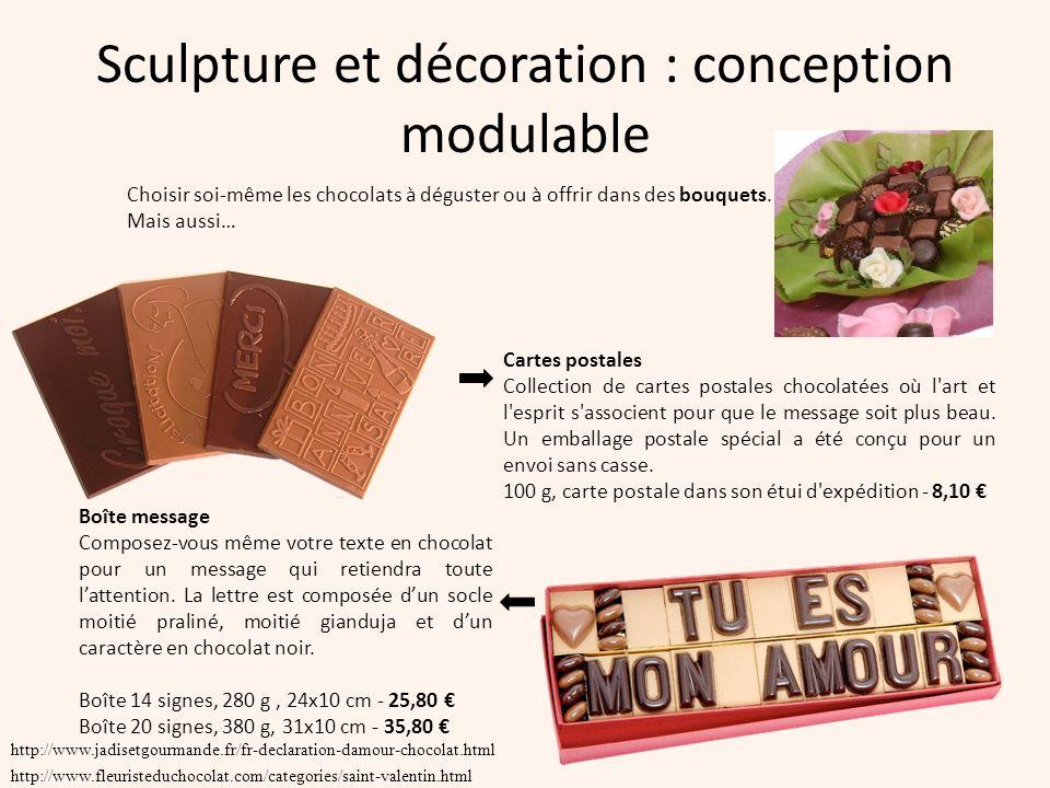 Sculpture et décoration : conception modulable
