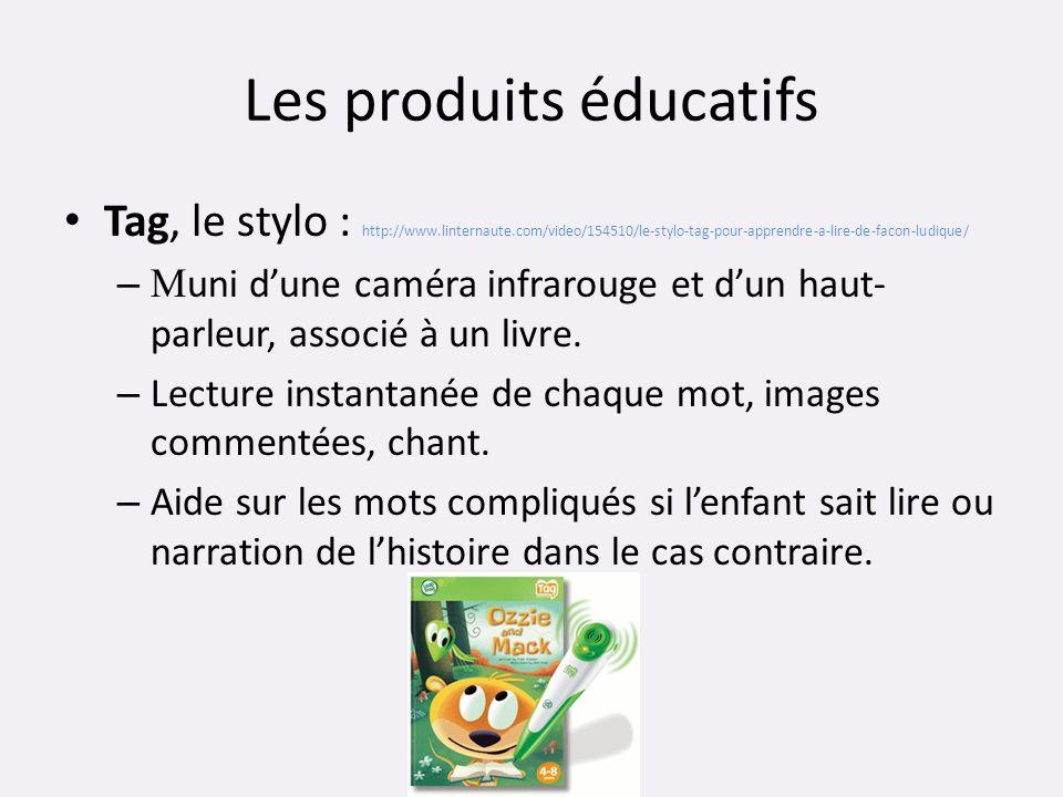 Les produits éducatifs