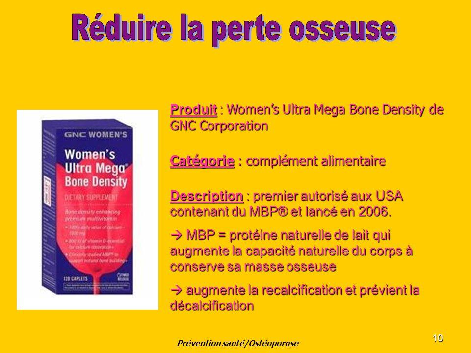 Prévention santé/Ostéoporose