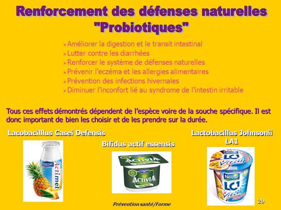 Prévention santé/Forme