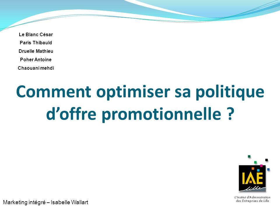 Comment optimiser sa politique d'offre promotionnelle