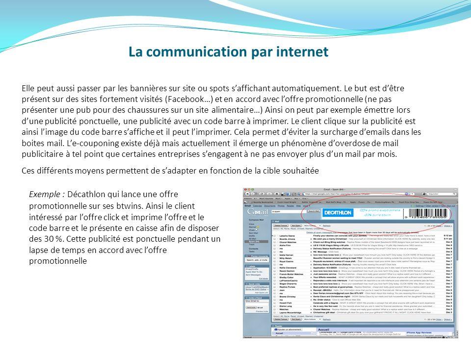 La communication par internet