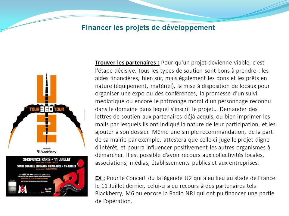 Financer les projets de développement