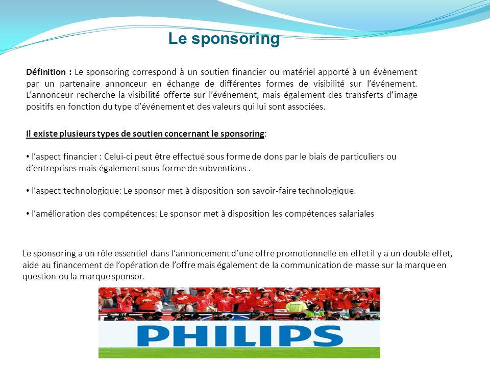 Le sponsoring