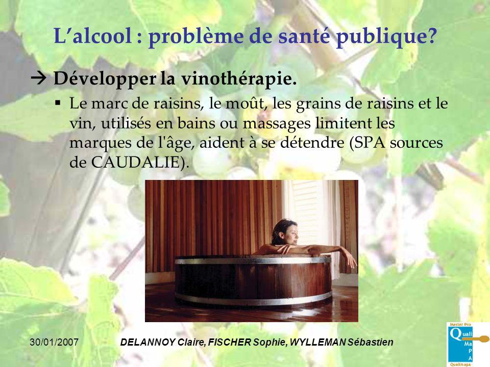 L'alcool : problème de santé publique
