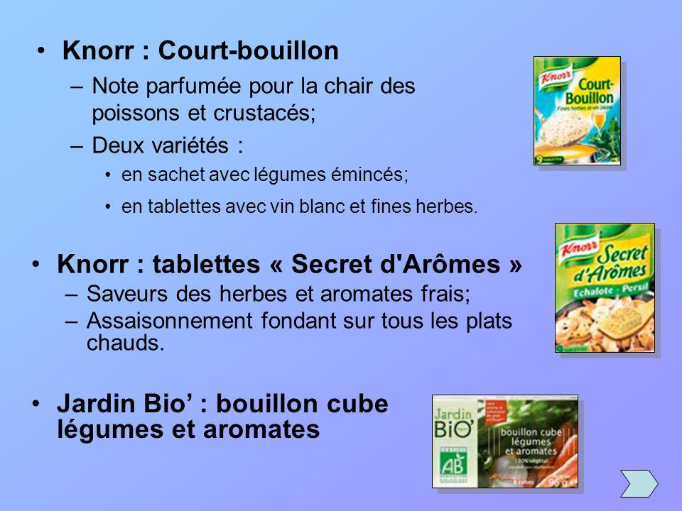 Knorr : Court-bouillon