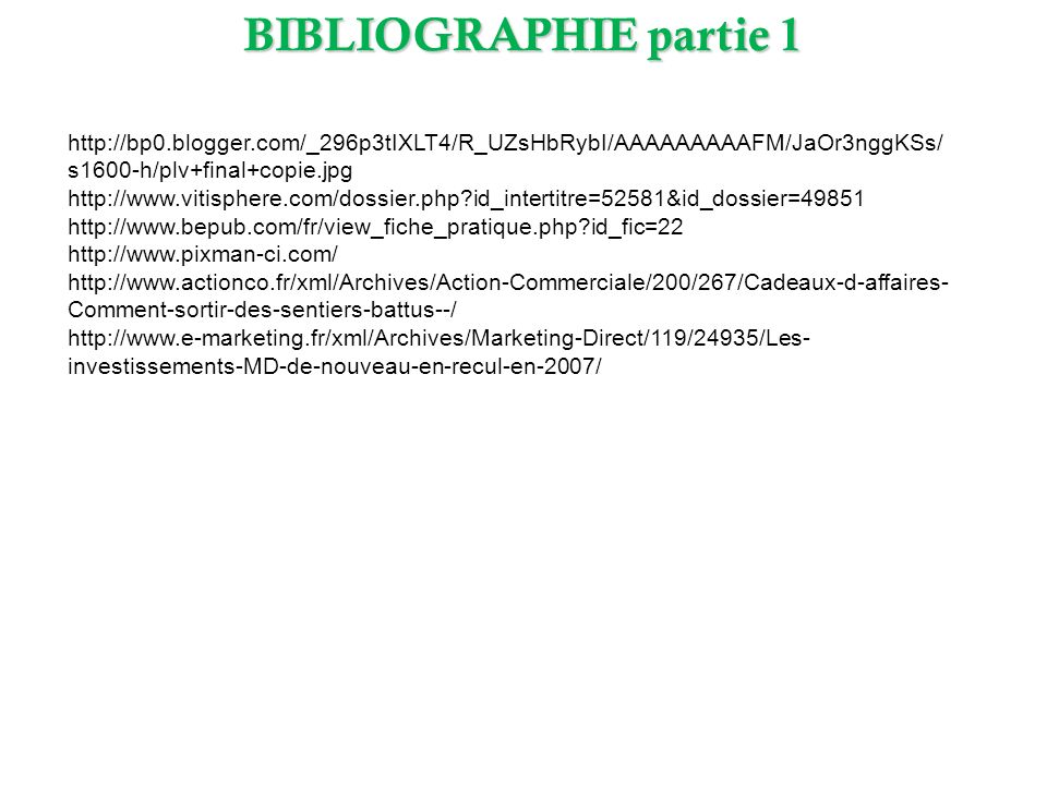 BIBLIOGRAPHIE partie 1 http://bp0.blogger.com/_296p3tIXLT4/R_UZsHbRybI/AAAAAAAAAFM/JaOr3nggKSs/s1600-h/plv+final+copie.jpg.