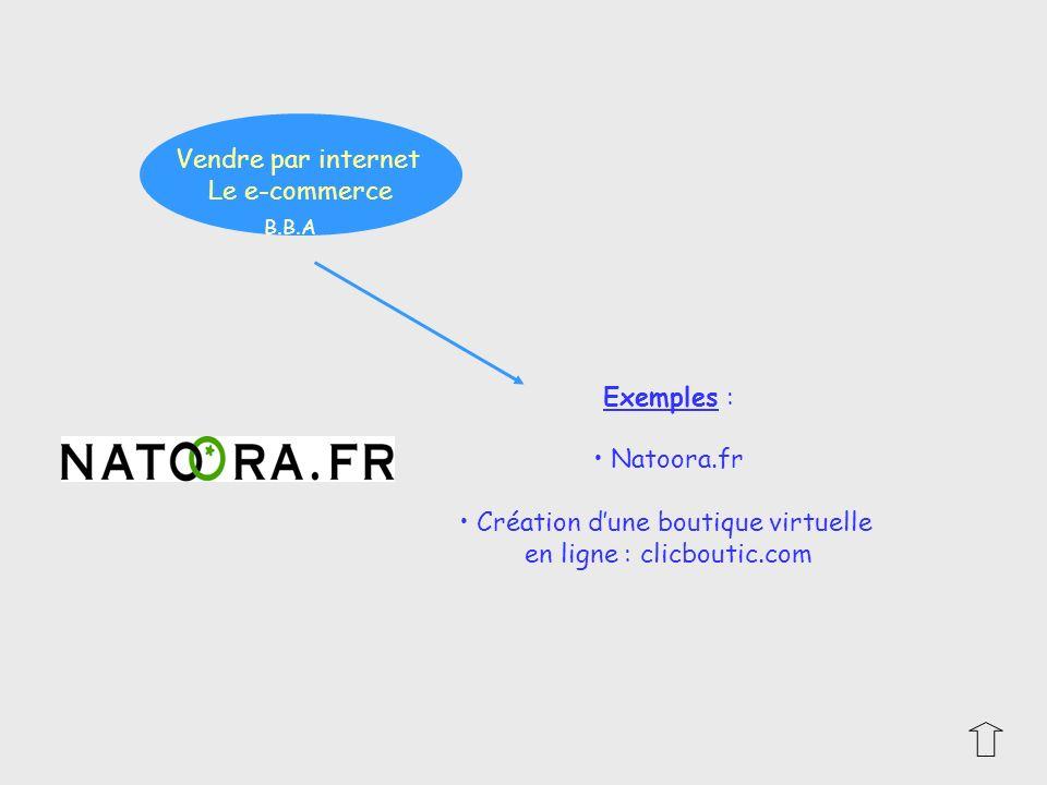 Création d'une boutique virtuelle en ligne : clicboutic.com