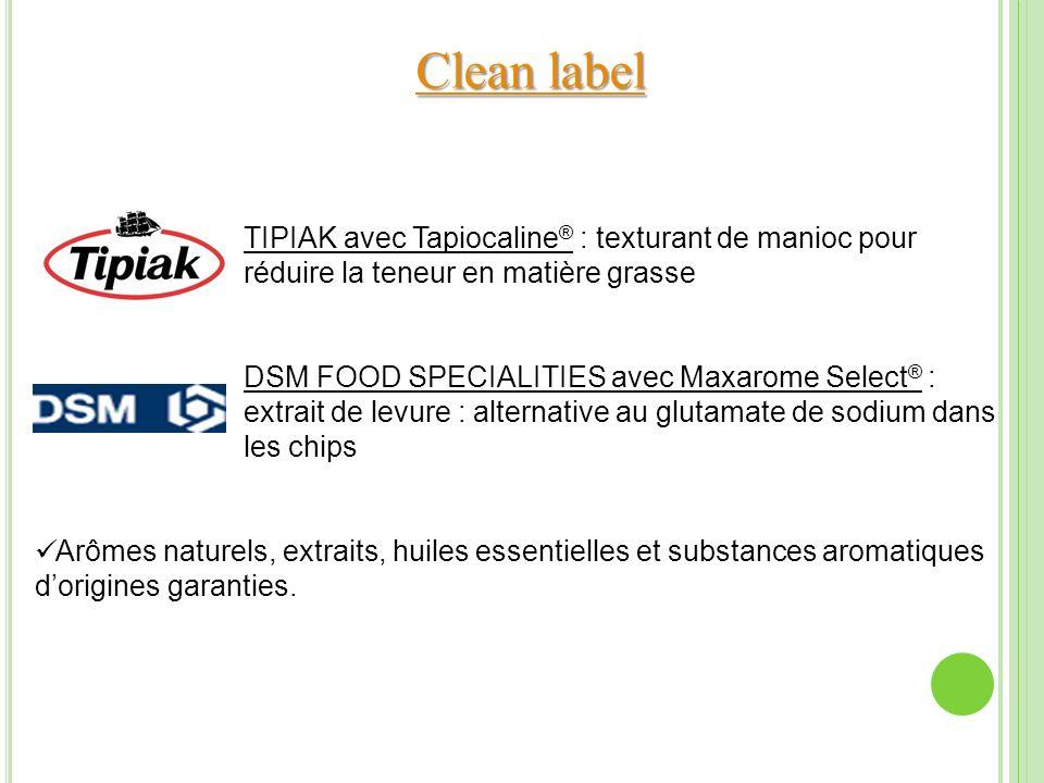 Clean label TIPIAK avec Tapiocaline® : texturant de manioc pour réduire la teneur en matière grasse.