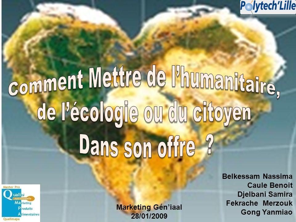 Comment Mettre de l'humanitaire, de l'écologie ou du citoyen