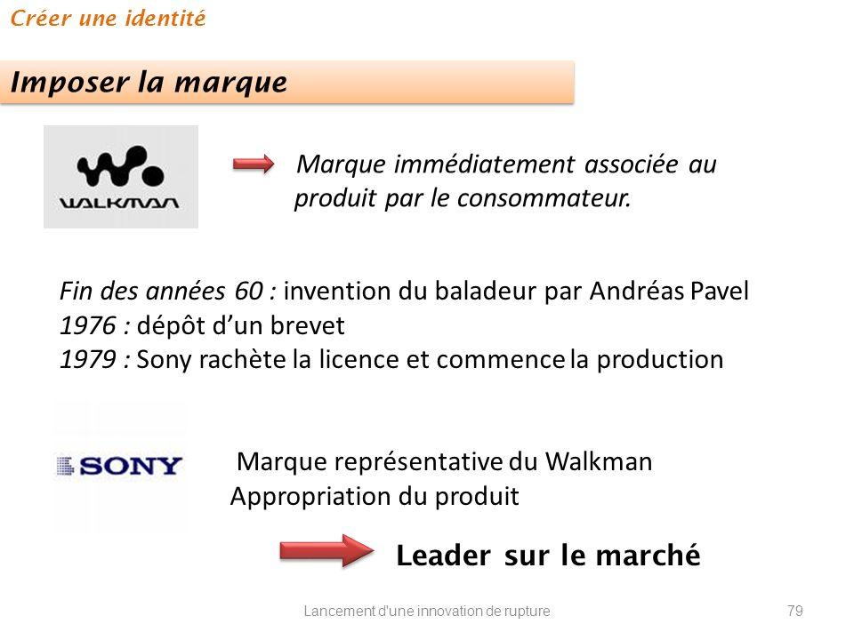 Marque immédiatement associée au produit par le consommateur.