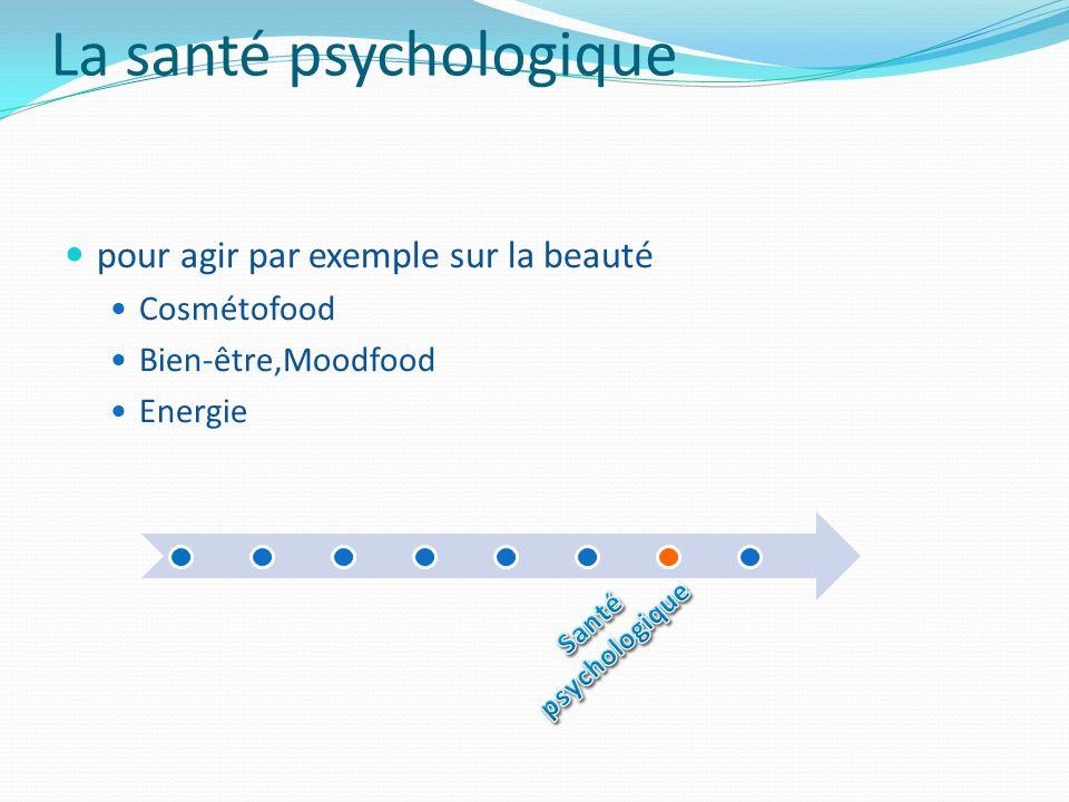 La santé psychologique