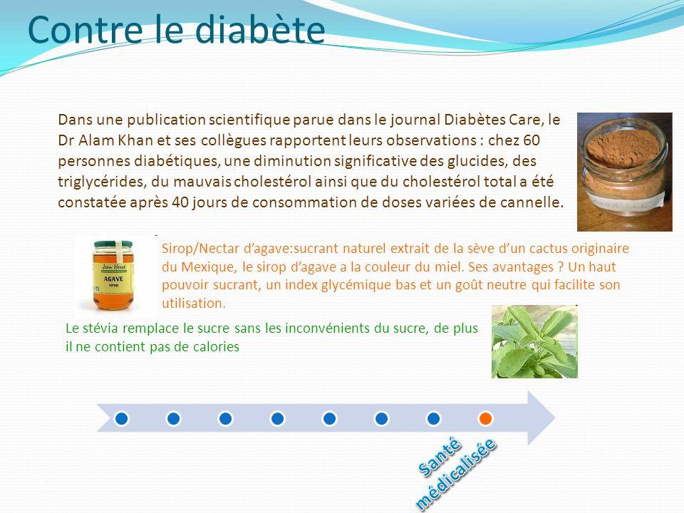 Contre le diabète Santé médicalisée