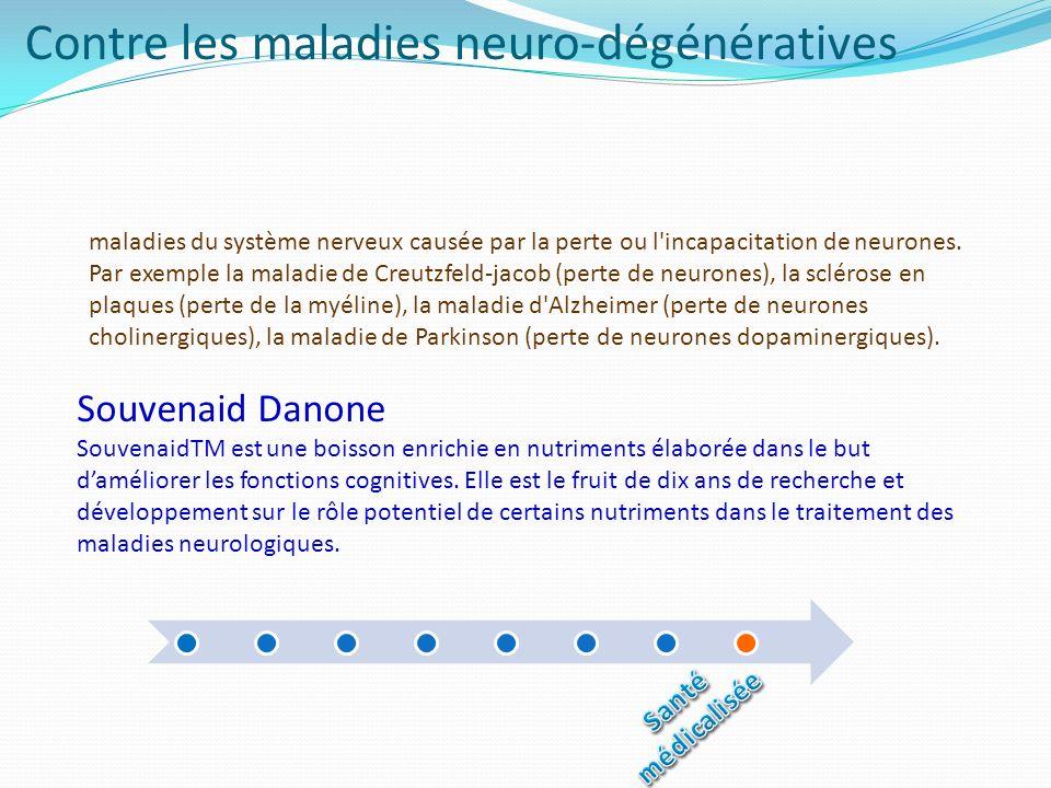 Contre les maladies neuro-dégénératives