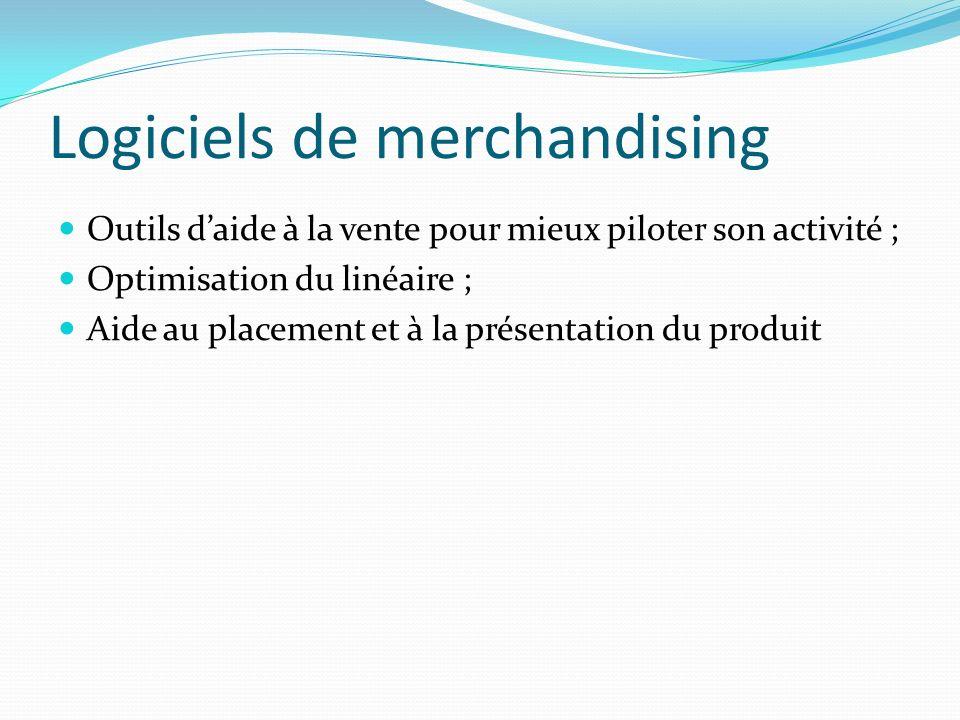 Logiciels de merchandising