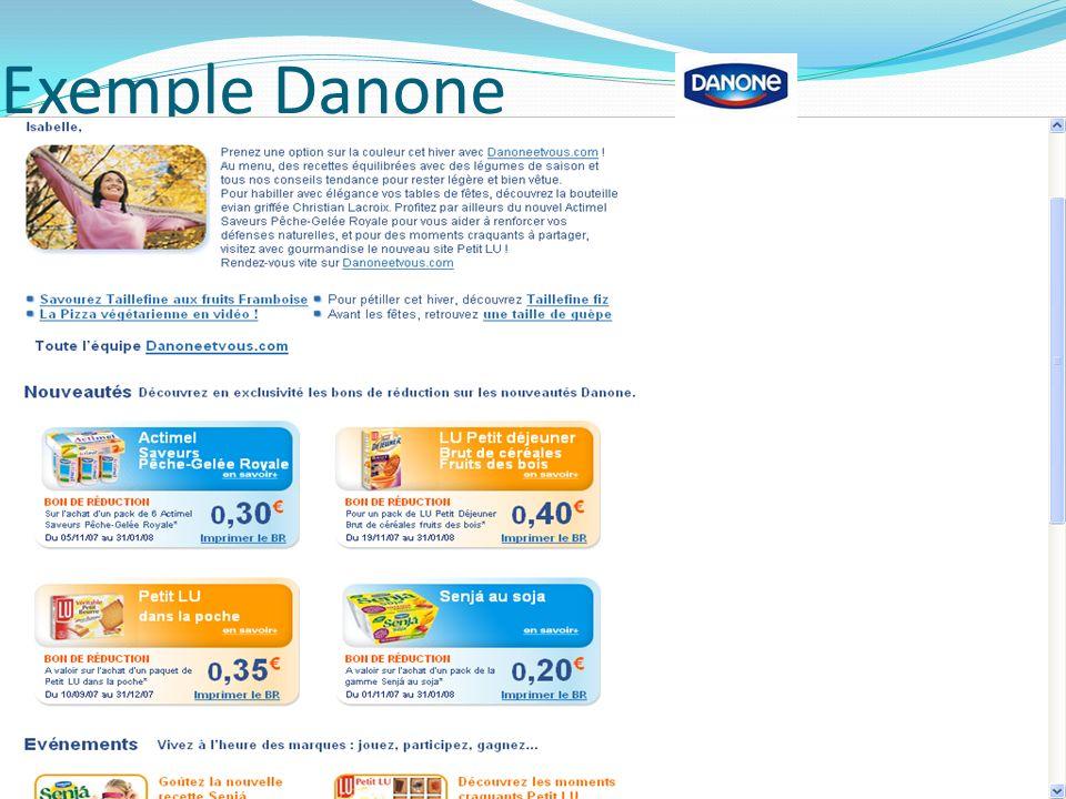 Exemple Danone