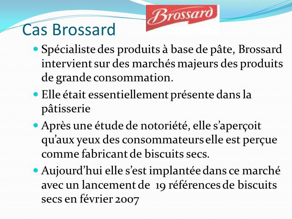 Cas Brossard Spécialiste des produits à base de pâte, Brossard intervient sur des marchés majeurs des produits de grande consommation.