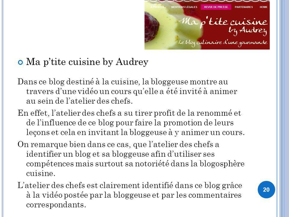 Ma p'tite cuisine by Audrey