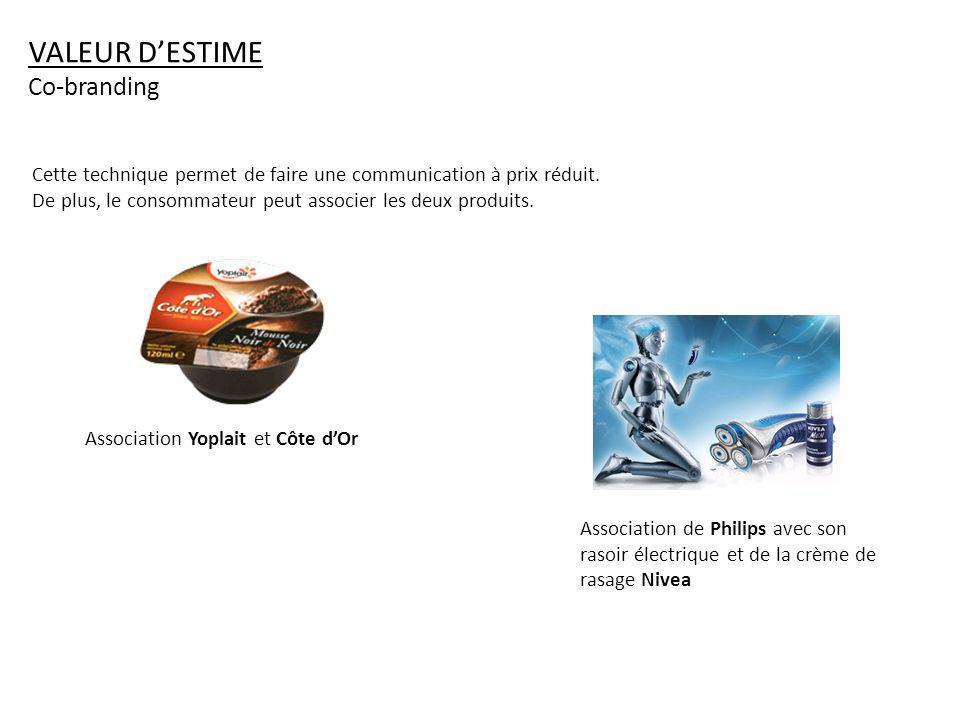 VALEUR D'ESTIME Co-branding