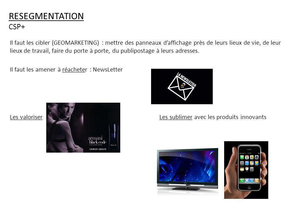 RESEGMENTATION CSP+