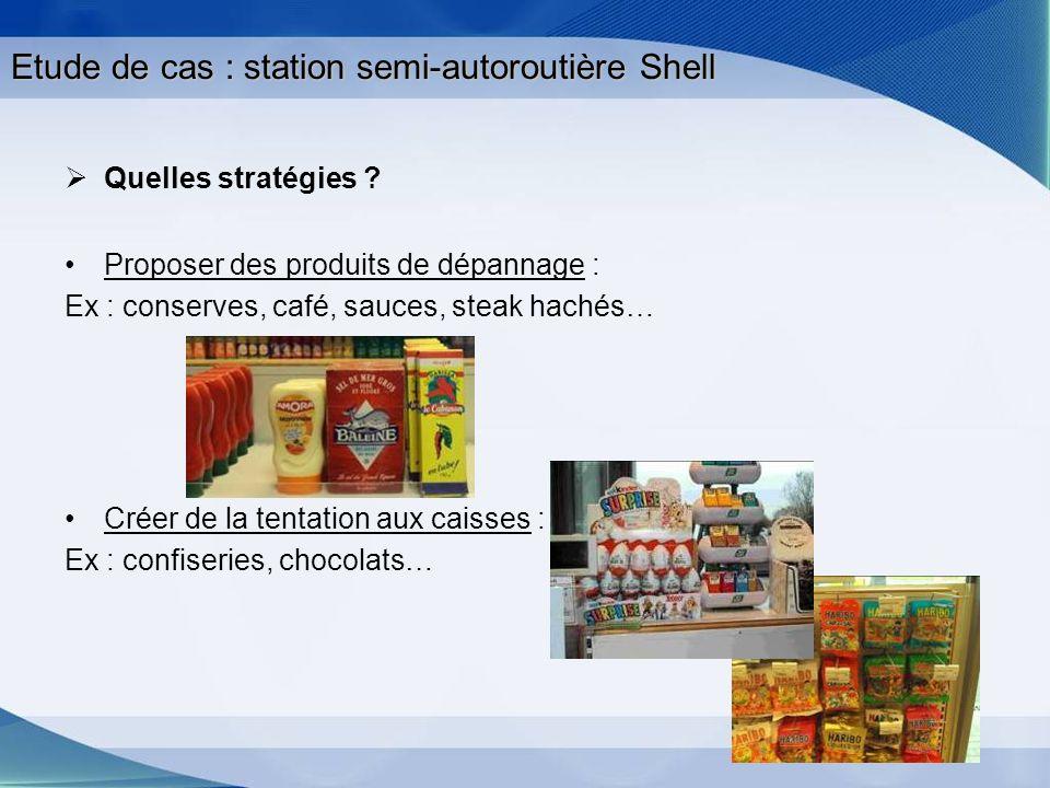 Etude de cas : station semi-autoroutière Shell
