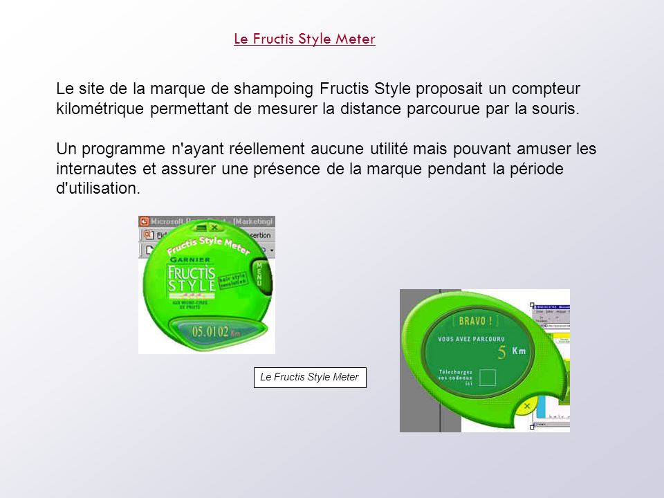 Le Fructis Style Meter