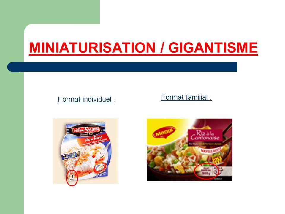 MINIATURISATION / GIGANTISME