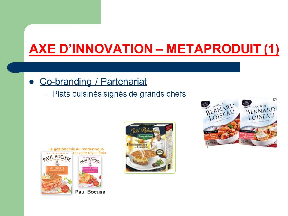 AXE D'INNOVATION – METAPRODUIT (1)