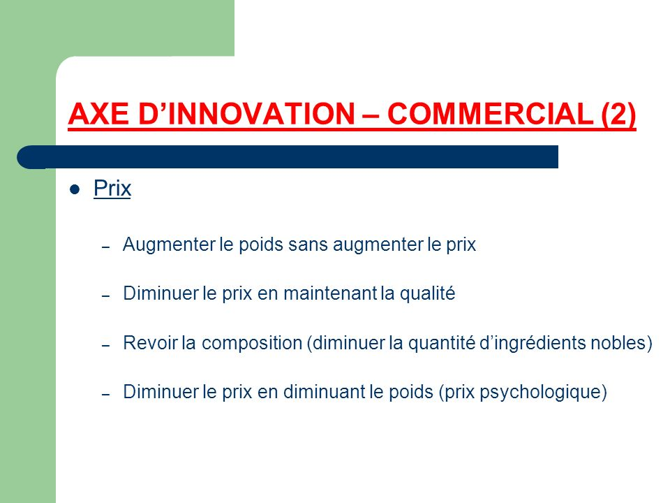 AXE D'INNOVATION – COMMERCIAL (2)
