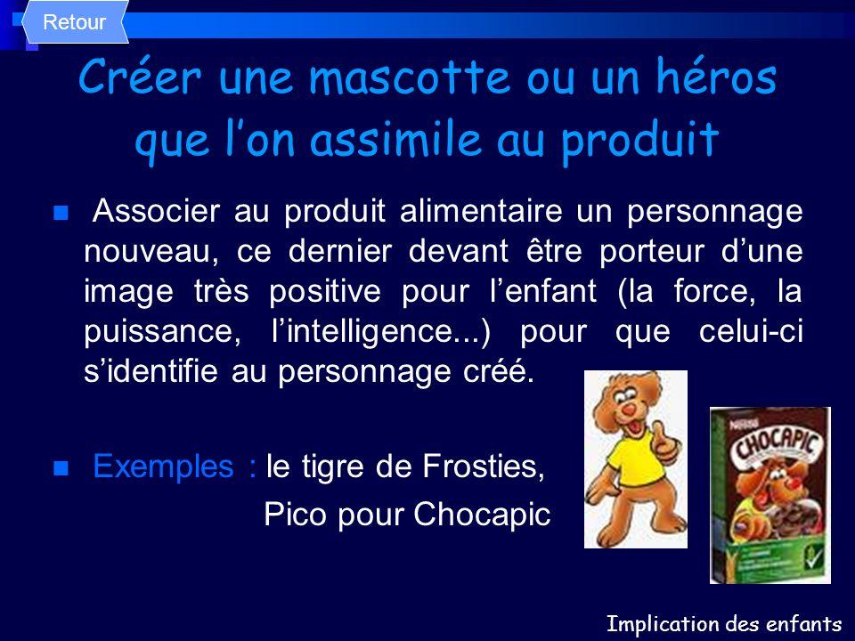 Créer une mascotte ou un héros que l'on assimile au produit