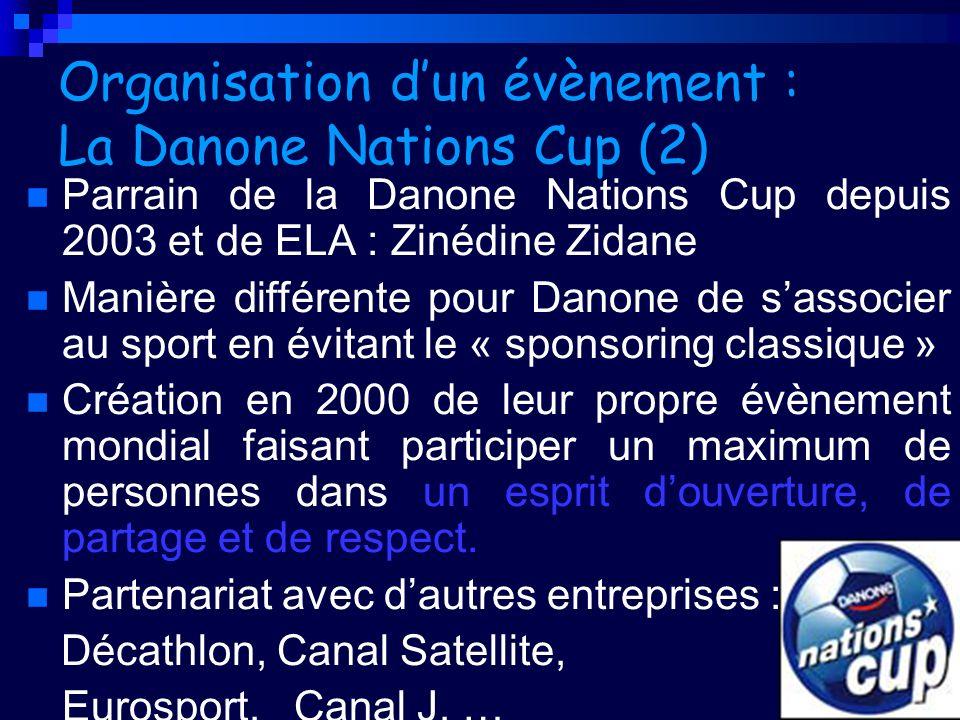 Organisation d'un évènement : La Danone Nations Cup (2)
