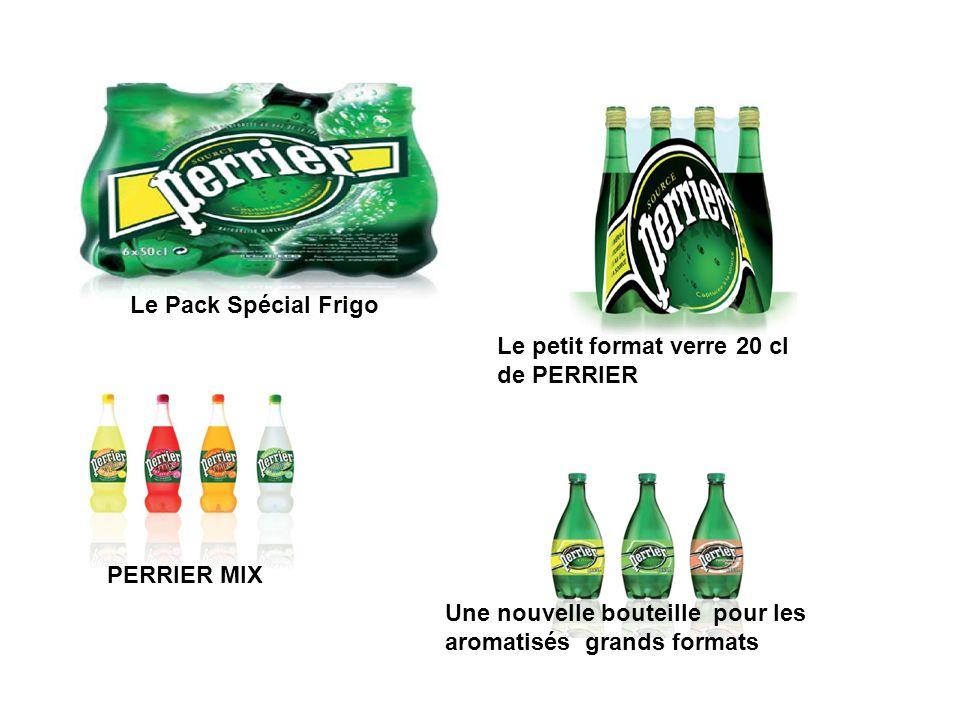 Le Pack Spécial FrigoLe petit format verre 20 cl.de PERRIER.