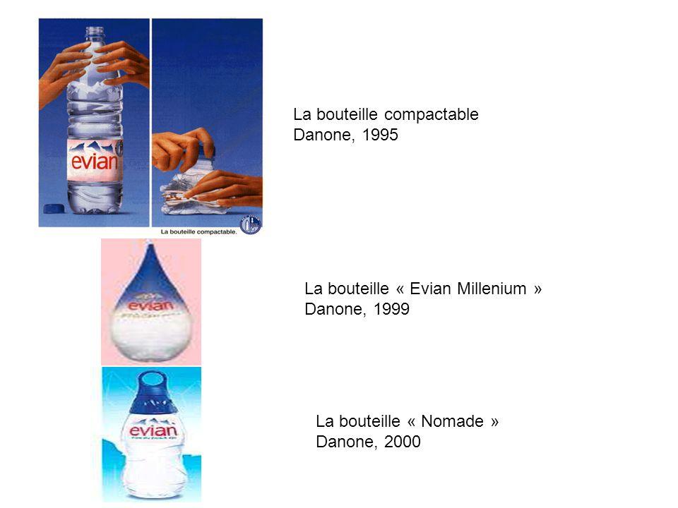 La bouteille compactable