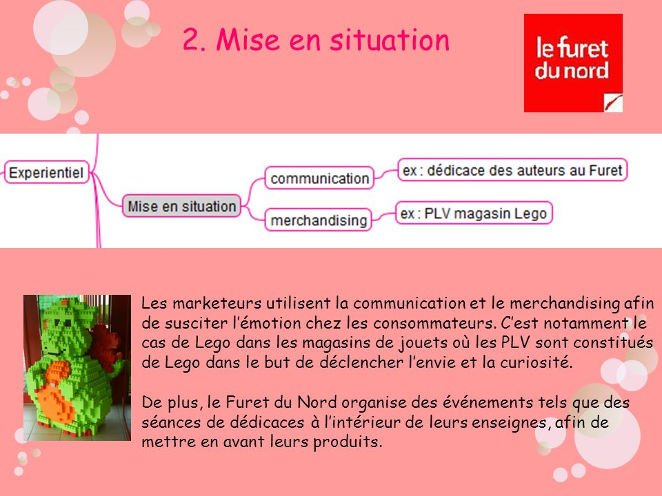 2. Mise en situation