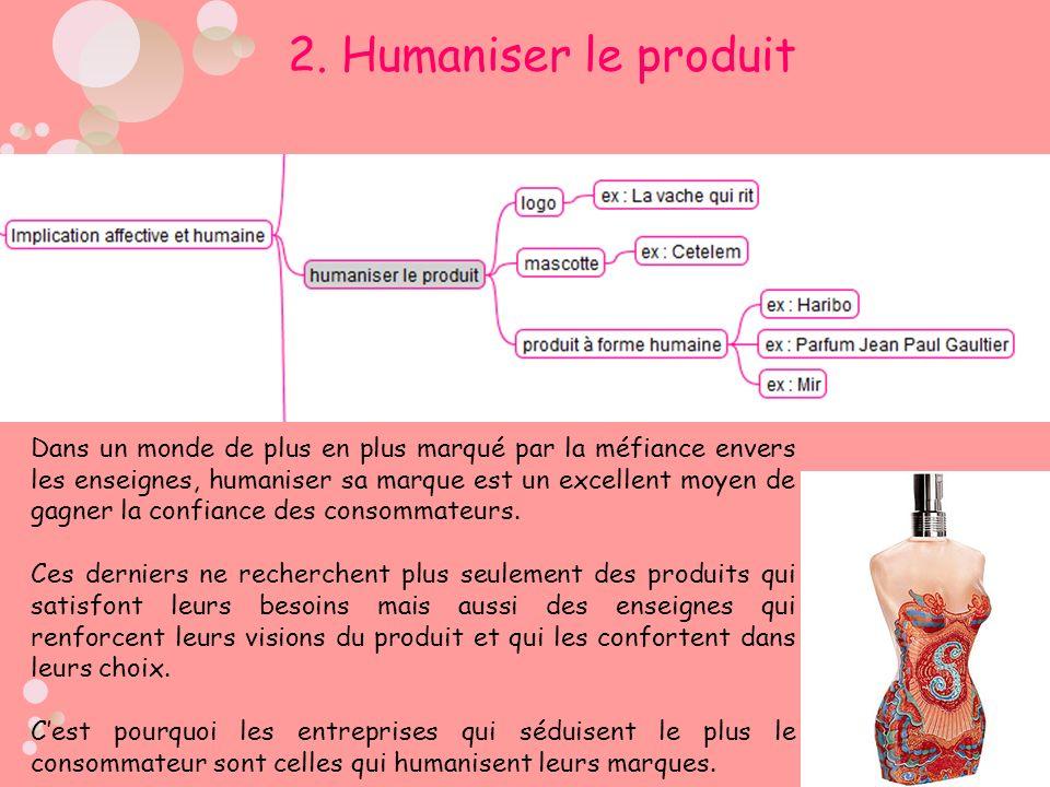 2. Humaniser le produit