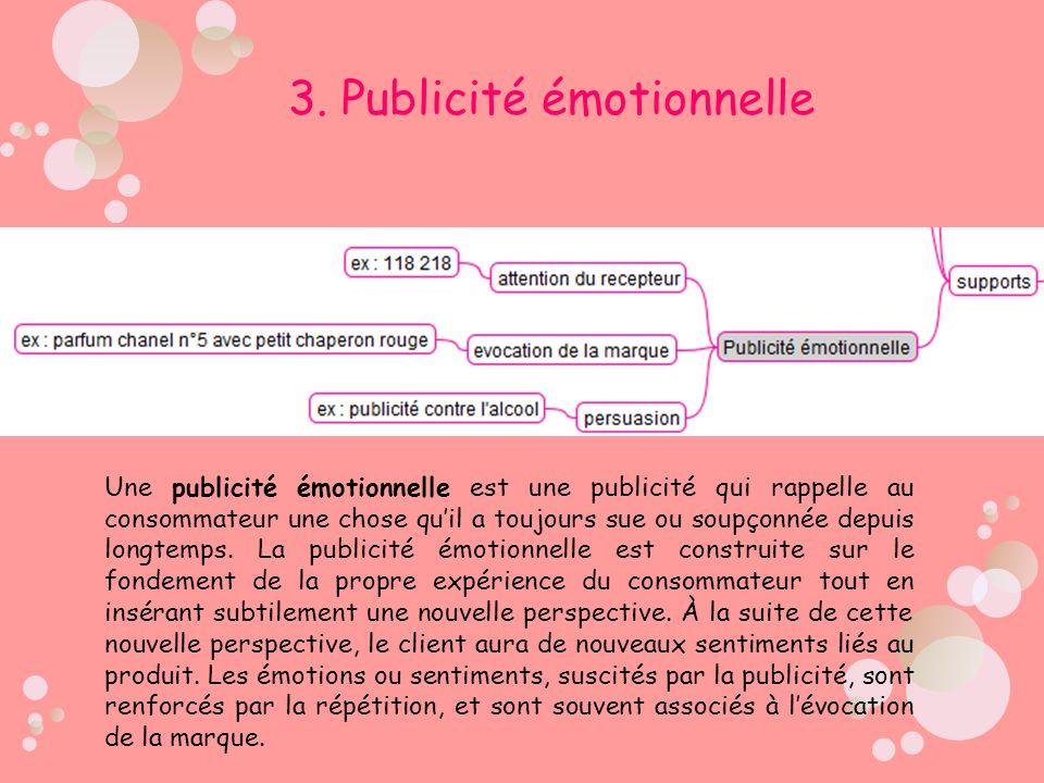 3. Publicité émotionnelle