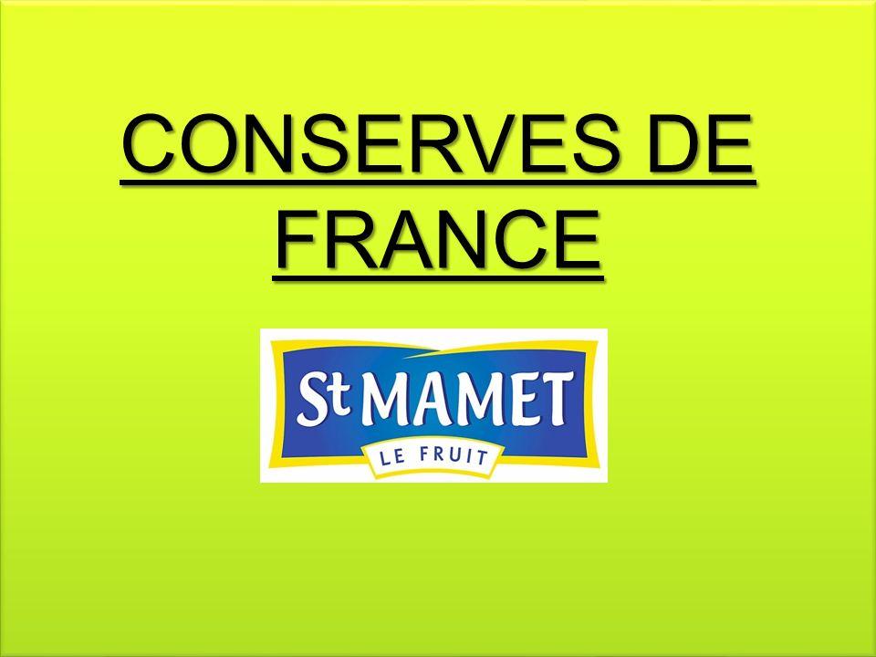 CONSERVES DE FRANCE